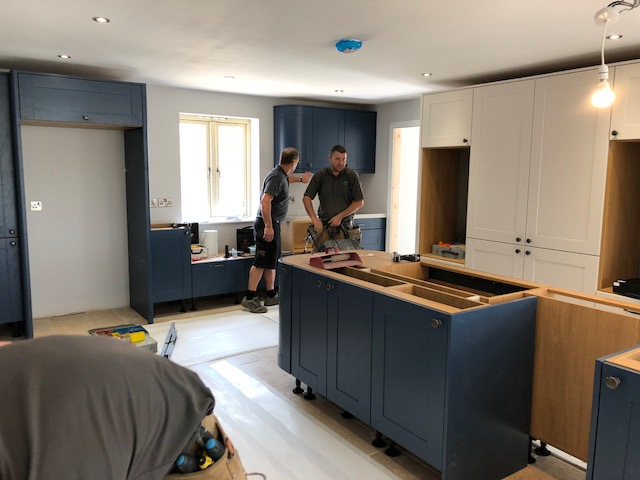 Fitting New Kitchen