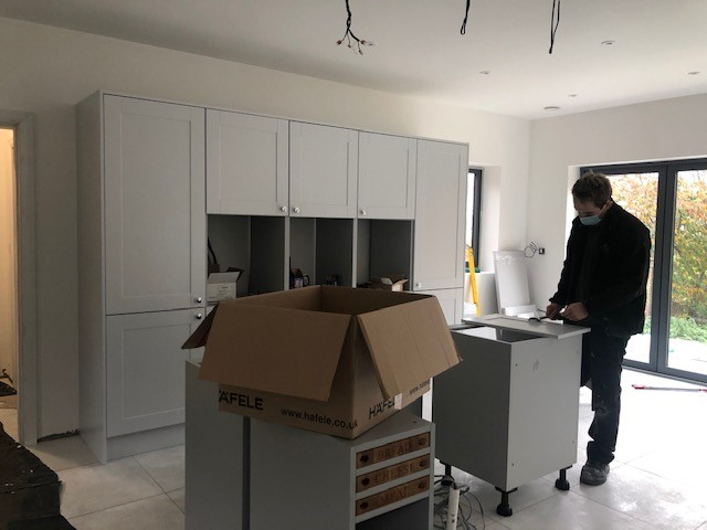 DELIVERY AND FIT NEW KITCHEN
