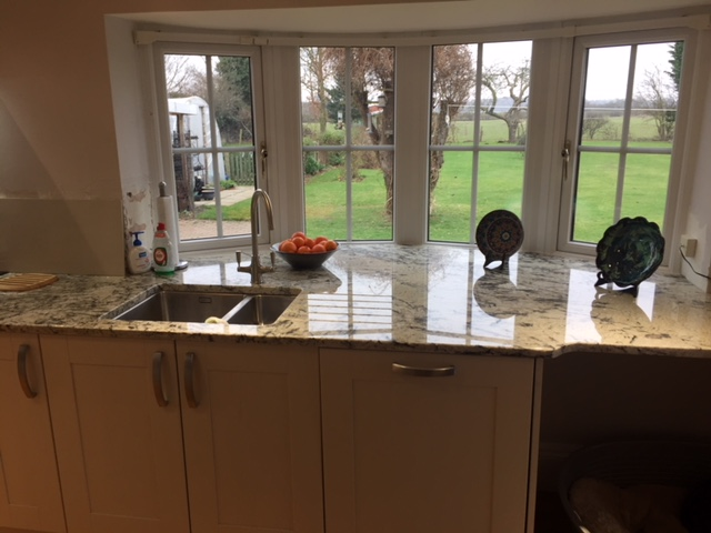 Granite Worktops Finished