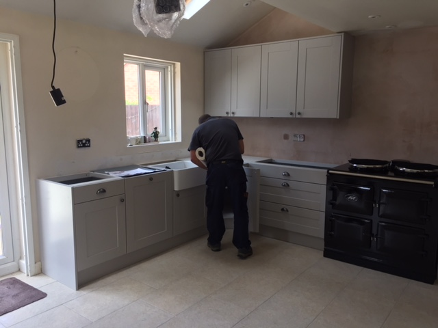 Kitchen Fitted, Ready For Granite