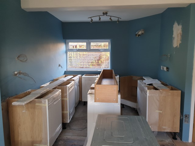 Delivered Kitchen