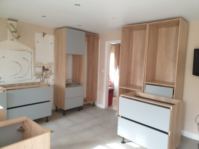 DELIVERED NEW KITCHEN